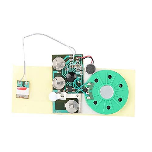 Nosii DIY-Grußkarten-Chip 30 Sekunden beschreibbares Voice Sound Chip-Modul