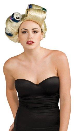 Lady Gaga sexy Damen Kostüm Perücke Dose Soda Can (Soda Kostüme)