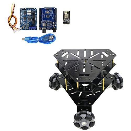 Clever 58mm Omni Rad Chassis Smart Auto Omni-directional Mobile Roboter Omni Rad Geschwindigkeit Messung Motor Kaufen Sie Immer Gut Programmierbares Spielzeug