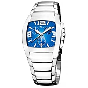 montre lotus shiny chrono bleu electrique 15313 5 montres. Black Bedroom Furniture Sets. Home Design Ideas