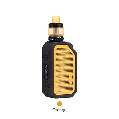 [Bluetooth-Technologie]Original Wismec Active Kit, Wasserdichtes Design E Zigarette Akku 2100mAh mit Amor NS Plus Tank (Orange) -