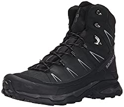 Salomon X Ultra Trek Gtx, Men High Rise Hiking Shoes, Black (Blackblackautobahn), 11.5 Uk (46 23 Eu)