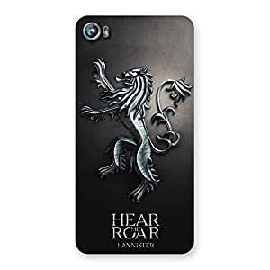 Hear Roar Back Case Cover for Micromax Canvas Fire 4 A107