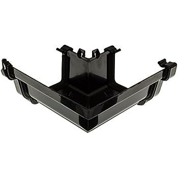 Black Rwkg4bl Universal Plus 128mm Ogee Gutter 4m