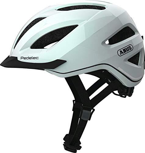 Abus Pedelec 1.1 Fahrradhelm Farbe Polar White, Größe M