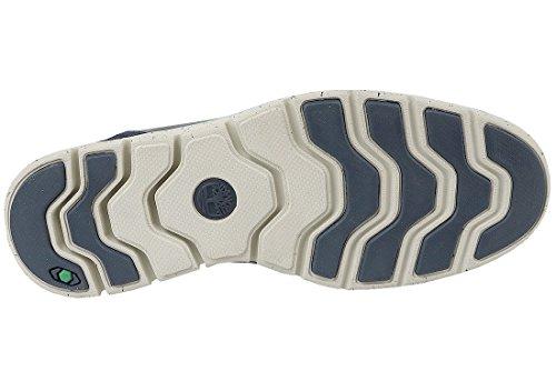 Scarpe Semicabina Timberland Blu Navy Bradstreet p8Xwq