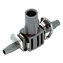 "GARDENA Micro-Drip System T-Joint for Spray Nozzles, 4.6 mm (3/16""): Pipe connection for defined spray nozzle fastening in the connecting pipe (8332-20)"