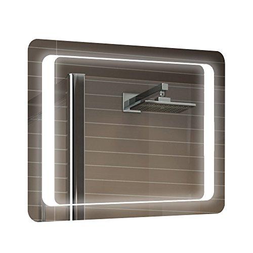 Shougui trade 800x600mm LED Iluminado gabinete Espejo