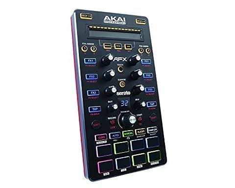 AKAI Professional AFX - Contrôleur FX DJ USB 4 Canaux pour Serato DJ avec Serato Flip Inclus