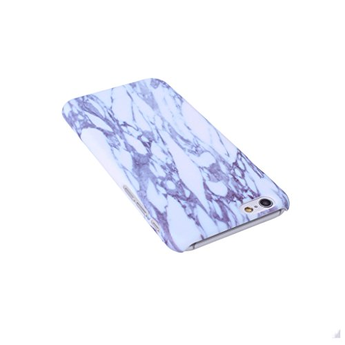 """iPhone 7 Coque , YIGA Motif Marbre Naturel Jaunâtre PC Plastique Dur Hard Bumper Case Cover Housse Etui pour Apple iPhone 7 4.7"""" A-7G-PC-HD7"""