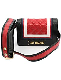 5195f01370 Love Moschino Borsa Quilted PU MIX Rosso multicolor