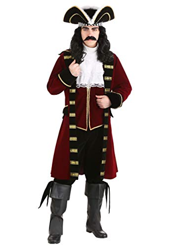 Hook Deluxe Kostüm Captain - Deluxe Captain Hook Fancy dress costume Medium
