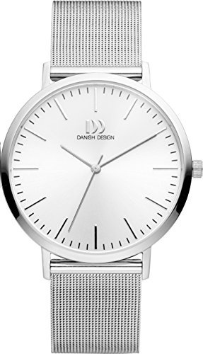 Danish Design Unisex Analogue Quartz Watch with Stainless Steel Strap IQ62Q1159