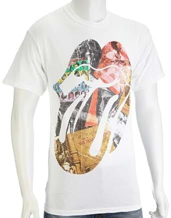 Bravado Men's Rolling Stones Album T-Shirt White 31271022BP Medium