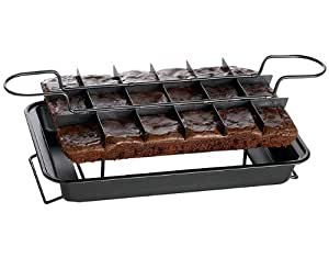 Easy Bake and Slicer - Brownie Pan Cooking Tray