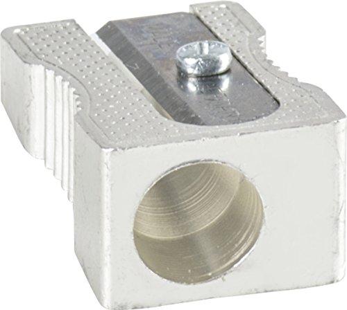 Brunnen 1029896 Spitzer aus Metall, Einfachspitzer, 2,5 x 1 x1 cm, für Stifte bis 8 mm Durchmesser)