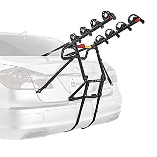 Allen Sports USA Premier 4-Bike Trunk Mounted Bicycle Carrier for Automobile - Black