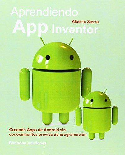 Aprendiendo APP inventor por Alberto Sierra Martín