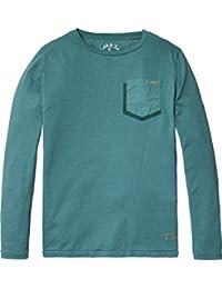 Scotch & Soda Garment Dyed, T-Shirt Garçon