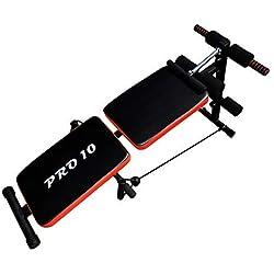 Pro10 Banco de musculacion/Entrenamiento Adjustable y Plegable Marca