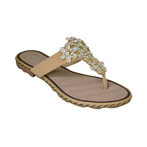 Ciara , Sandales pour femme Beige