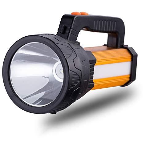 GOMAR Extremadamente Brillante Lámpara Mano LED 9000