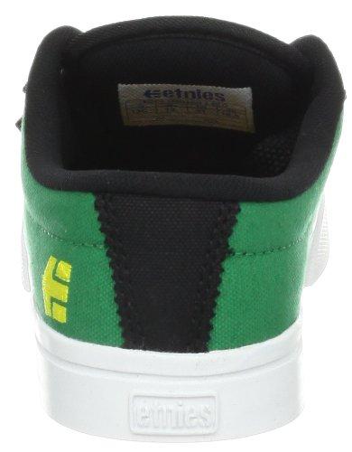 Etnies Kids Jameson 2 Eco, Chaussures de sport garçon noir vert Vert (Black/Green 985)