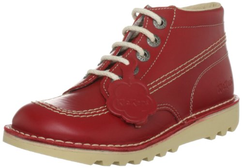 Kickers Kick Hi Y Core Unisex-Kinder Stiefel Rosso (Red)