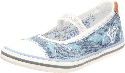 Geox - Ballerine Kiwi, blu (Jeans), 33