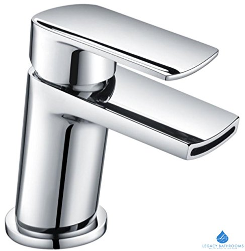 trade-in-post-chrome-smiley-monobloc-basin-sink-mixer-tap-cloakroom-modern-bathroom-with-waste