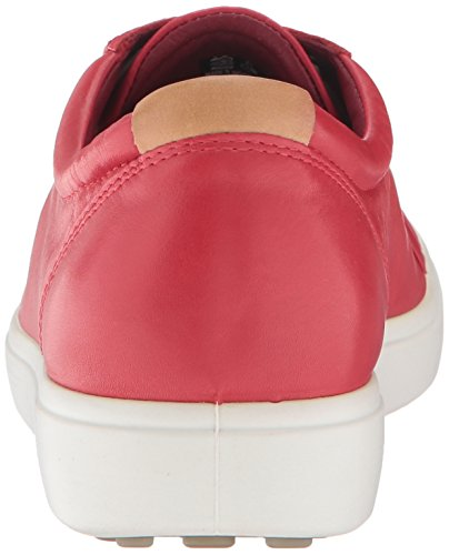 1046TOMATO Soft Damen Rot Ecco 7 7 Sneakers Damen Ladies Ecco Soft Xqv7axwCC