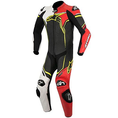 Mono para moto Alpinestars GP Plus 1PC negro / blanco / rojo / amarillo (50)