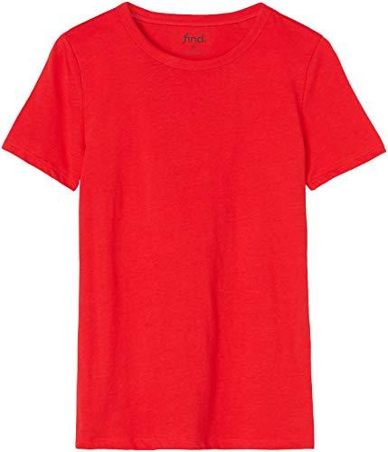 FIND 18103 magliette donna Rosso 40
