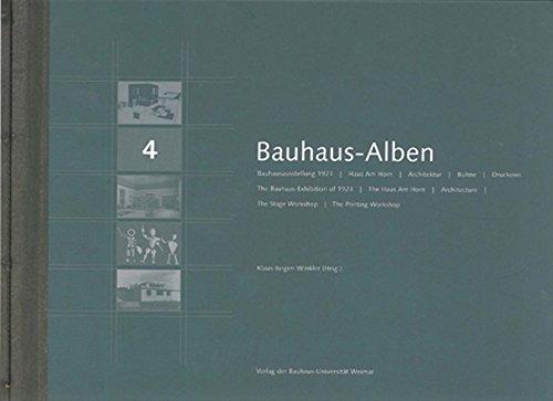 Bauhaus-Alben / Bauhaus-Alben 4: Bauhausausstellung, Haus am Horn, Architektur, Bühne, Druckerei