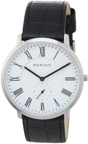 Bering Time - 11139-407 - Montre Homme - Quartz Analogique - Bracelet Cuir Noir