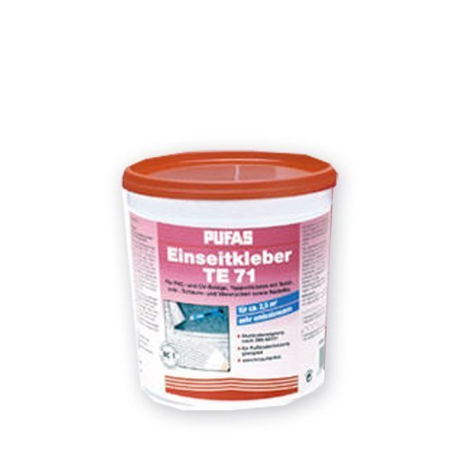 Decotric Teppichkleber Einseitkleber für Bodenbelägen und PVC/CV-Belägen.3 kg