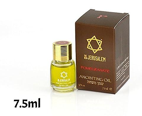 Anointing Oil Pomegranate Fragrance 7.5ml From Holyland Jerusalem (1 bottle)