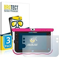 BROTECT Protection Ecran Verre Compatible avec Vtech Storio Max 7 (Pink) [3 Pièces] - Protecteur Vitre 9H, AirGlass