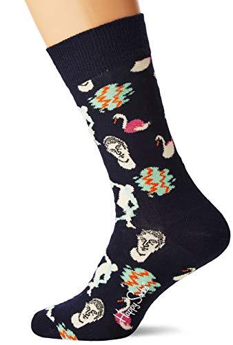 Happy Socks Herren Park Socken, Mehrfarbig (Multicolour 630), 7/10 (Herstellergröße: 41-46) -