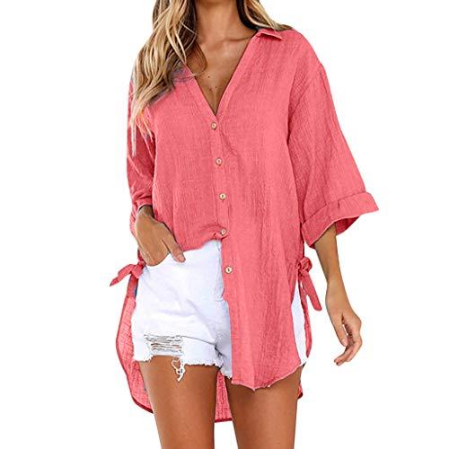 ITISME FRAUEN BLUSE Mode Damen Chiffon Solid T-Shirt Büro Damen Tasche Chiffon Casual Shirt Top Bluse Herbst Winter Sale Carmenbluse Chiffonbluse Hemdbluse Blusen Tops & Shirts Lässige Carmen Shirt