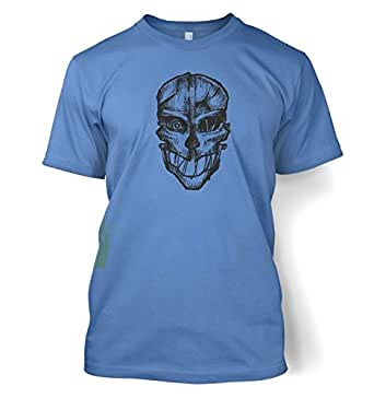 "Assassins Mask T-shirt - Carolina Blue Large (42/44"")"