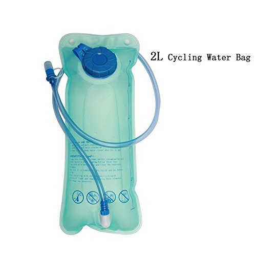 Bolsa de Agua Hidratante 2L Tanque de agua para ciclismo Acampar Senderismo Deporte al aire libre