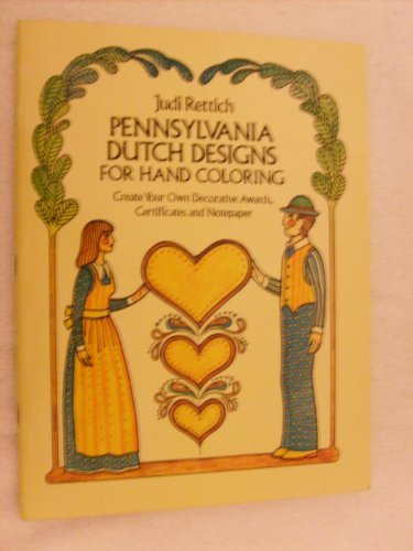 Pennsylvania Dutch Designs for Hand Coloring Pennsylvania Dutch Design