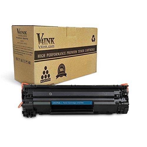 V4ink 1 Paquete Nuevo Reemplazo de Compatible Cartucho de tóner láser HP 79A CF279A para HP Laserjet Pro MFP M26nw, M26a, Laserjet Pro M12w, M12a - (Negro, 1,000 Páginas)