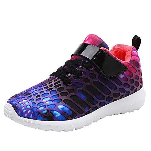 Sfit Kinder Laufschuhe Camo Atmungsaktiv Leichte Sneaker Klettverschluss Fitness Freizeitschuhe Turnschuhe Schnürer Running Shoes