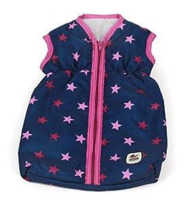 Bayer Chic 2000 792 72 - Saco de Dormir para muñecas, diseño de Estrellas, Color Rosa