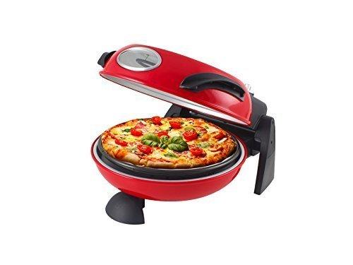 FORNO PER PIZZA PANE PASTA DOLCI PANE ROSSO ELETTRICO BEPER 1500 W PIETRA REFRATTARIA