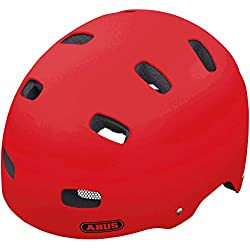 Abus - Casco infantil, color rojo (Red matt), talla S (48-55 cm)