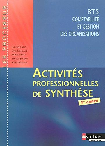 Activités professionnelles de synthèse - BTS CGO 1re année