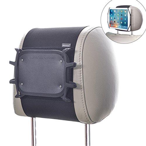 WANPOOL Auto Kopfstützenhalterung Stütze für 7-10,5 Zoll iPad und Tablets